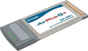D-Link AirPlusG+ DWL-G650+, Cardbus