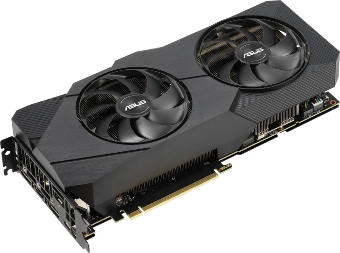 ASUS Dual GeForce RTX 2080 OC Evo, DUAL-RTX2080-O8G-EVO, 8GB GDDR6, HDMI, 3x DP, USB-C (90YV0CL0-M0NM00)