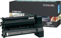 Lexmark Return Toner C780H1KG schwarz