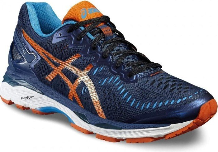 wholesale dealer 210fc 867e9 Asics gel-Kayano 23 poseidon/flame orange/blue jewel (men) (T646N-5809)  from £ 73.40