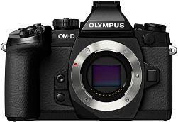 Olympus OM-D E-M1 schwarz mit Objektiv Fremdhersteller