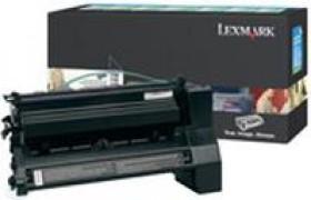 Lexmark Return Toner C780A1KG schwarz