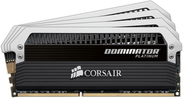 Corsair XMS3 Dominator Platinum DIMM Kit 32GB, DDR3-1600, CL9-9-9-24 (CMD32GX3M4A1600C9)