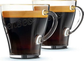 Philips Senseo CA6510/00 coffee glasses set, 2-piece.