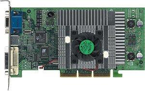MSI MS-8853 G3Ti500 Pro-TD, GeForce3 Titanium 500, TV-Out, DVI, 64MB, AGP