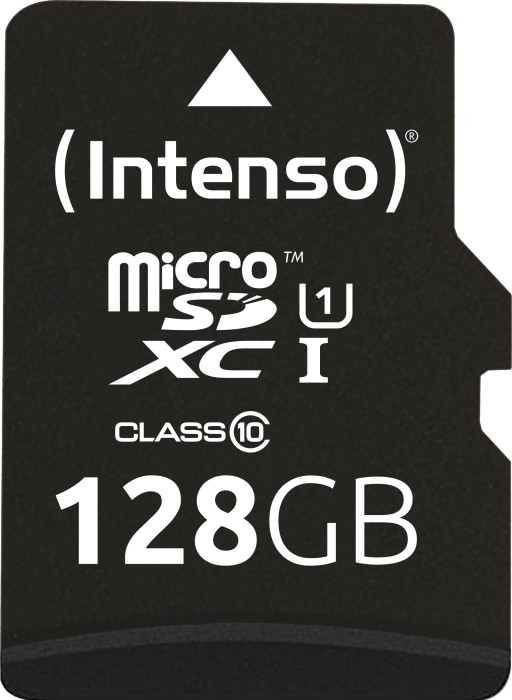 Intenso R45 microSDXC Premium 128GB Kit, UHS-I U1, Class 10 (3423491) -- (new design)
