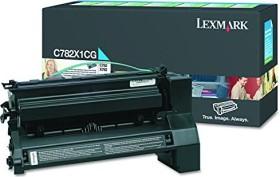 Lexmark Return Toner C782X1CG cyan