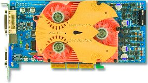Albatron FX5950UV, GeForceFX 5950 Ultra, 256MB DDR, DVI, ViVo, AGP