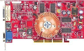 MSI MS-8911 FX5600XT-TD128, GeForceFX 5600XT, 128MB DDR, DVI, TV-out, AGP