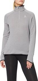Odlo Carve Ceramiwarm Midlayer 1/2 Zip grey melange (ladies) (542161-15700)