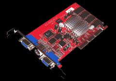 connect3D Radeon 7000, 64MB DDR, VGA, DVI, TV-out, AGP (6005)