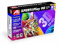 ATI Xpert@Play98, Rage Pro, 8MB, TV-out, AGP, bulk