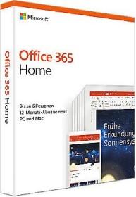 Microsoft Office 365 Home inkl. BullGuard Internet Security, 1 Jahr, PKC (deutsch) (PC/MAC) (6GQ-01054-BG1629)
