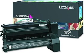 Lexmark Return Toner C782X1MG magenta