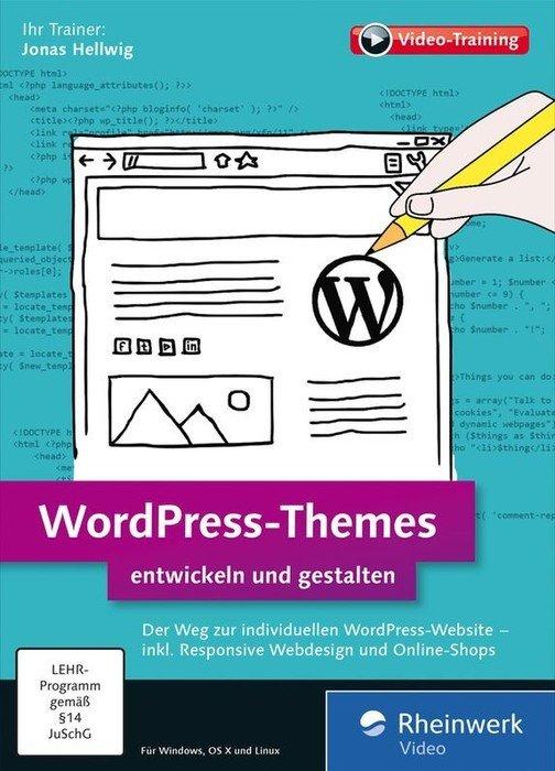 Rheinwerk Wydawnictwo: WordPress-Themes entwickeln i gestalten (niemiecki) (PC/MAC)
