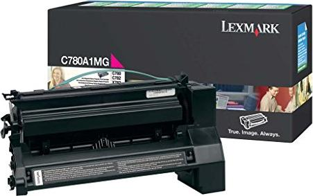 Lexmark C780A1MG Return Toner magenta -- via Amazon Partnerprogramm