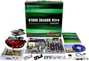 Soyo KT600 Dragon Ultra Platinum (PC-3200 DDR)