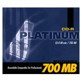 BestMedia Platinum CD-R 80min/700MB, 600-pack
