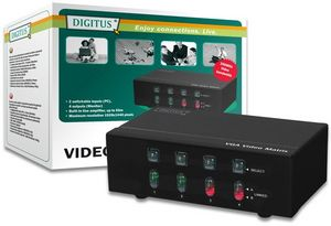 Digitus DS-48110 VGA matrix splitter 4-port