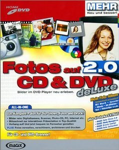 Magix: Fotos na CD & DVD 2.0 deLuxe (PC)