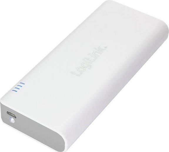 LogiLink Mobile Power Bank 12500 weiß (PA0083)
