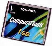 Toshiba CompactFlash Card (CF) 512MB (CF-512-T-B)