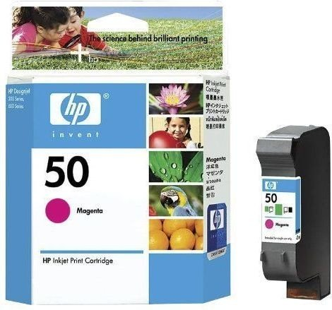 HP Printhead with ink Nr 50 magenta (51650ME)