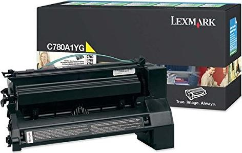 Lexmark C780A1YG Return Toner gelb -- via Amazon Partnerprogramm
