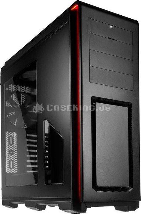 Phanteks Enthoo Luxe black, acrylic window, noise-insulated