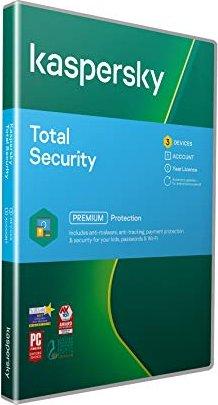 Kaspersky Lab Total Security 2018, 3 użytkowników, 1 rok, ESD (niemiecki) (Multi-Device) -- via Amazon Partnerprogramm