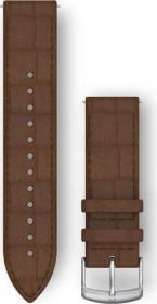 Garmin Schnellwechsel Ersatzarmband 20mm Leder dunkelbraun (010-12691-0D)