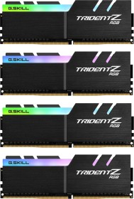 G.Skill Trident Z RGB DIMM kit 64GB, DDR4-3600, CL17-19-19-39 (F4-3600C17Q-64GTZR)