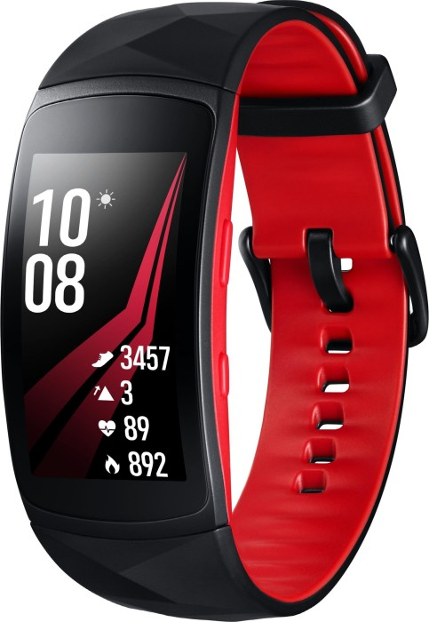 Samsung Gear Fit 2 Pro Large R365 schwarz/rot