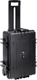 B&W International outdoor case type 6700 trolley black with variable compartments (6700/B/RPD)