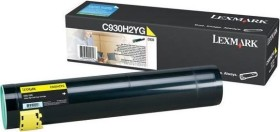 Lexmark Toner C930H2YG gelb