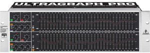 Behringer Ultragraph Pro FBQ6200 equalizer -- © Copyright 200x, Behringer International GmbH