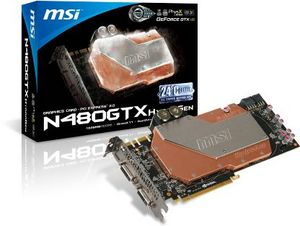 MSI N480GTX HydroGen, GeForce GTX 480, 1.5GB GDDR5, 2x DVI, Mini HDMI (V221-007R)