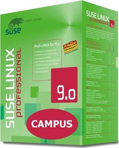 SuSE: Linux 9.0 Professional - Campus (PC)