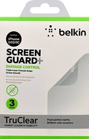 Belkin Screen Overlay Damage Control screen protector for Apple iPhone 5 (F8W181CW)