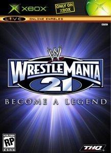 WWE Wrestlemania XXI - Become a Legend (deutsch) (Xbox)