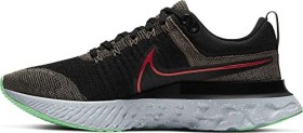 Nike React Infinity Run Flyknit 2 ridgerock/black/green glow/chile red (Herren) (CT2357-200)