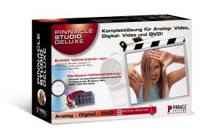 Pinnacle Studio 8.0 Deluxe w tym FireWire karta i Breakout-Box
