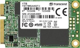 Transcend Industrial MSA452T-I SSD 1TB, mSATA (TS1TMSA452T-I)