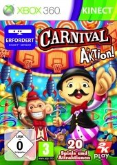 Carnival Games: In Action (Kinect) (English) (Xbox 360)