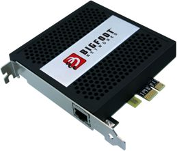 Bigfoot Networks Killer 2100 Gaming network card, 1x 1000Base-T, PCIe x1