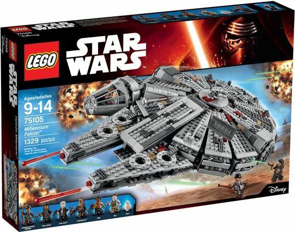 LEGO Star Wars Episode VII - Millennium Falcon (75105) | Skinflint ...