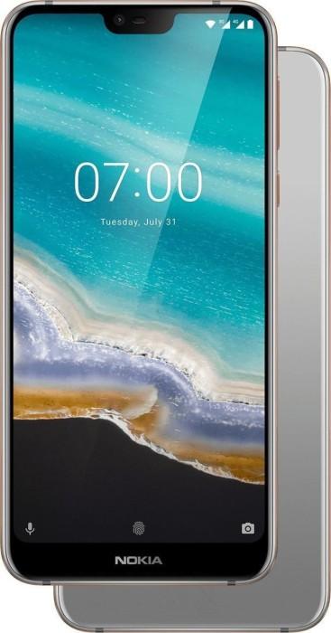 Nokia 7.1 Dual-SIM 32GB silber
