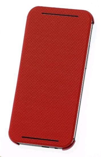 HTC HC-V941 Flip Case für One (M8) rot