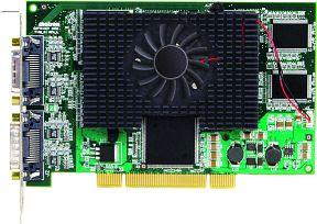 Matrox Millennium G450 MMS Quad, 4x 32MB DDR, 4x DVI (G45X4QUAD)