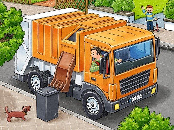Ravensburger Puzzle Meine liebsten Fahrzeuge Koffer (07406)